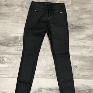 Guess Coated Black Skinny Jeans